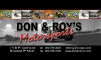 Don & Roy's Motorsports Logo