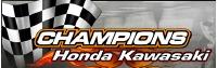 Champions Honda Kawasaki Logo