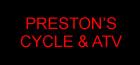 Prestons Cycle & ATV Logo