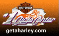 #1 Cycle Center Harley-Davidson Logo