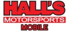 Hall's Motorsports- Mobile Logo