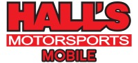 Hall's Motorsports- Mobile Logo