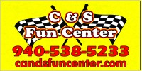 C & S Fun Center Logo