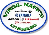 Virgil Naff's Lynchburg Kawasaki Yamaha Logo