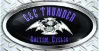 C & C Thunder Custom Cycles Logo