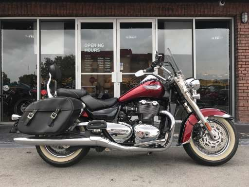 new or used triumph thunderbird abs motorcycle for sale in miami