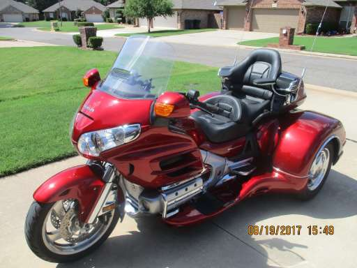 new or used honda gold wing 1800 motorcycle for sale in oklahoma