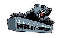 Black Bear Harley Davidson Logo