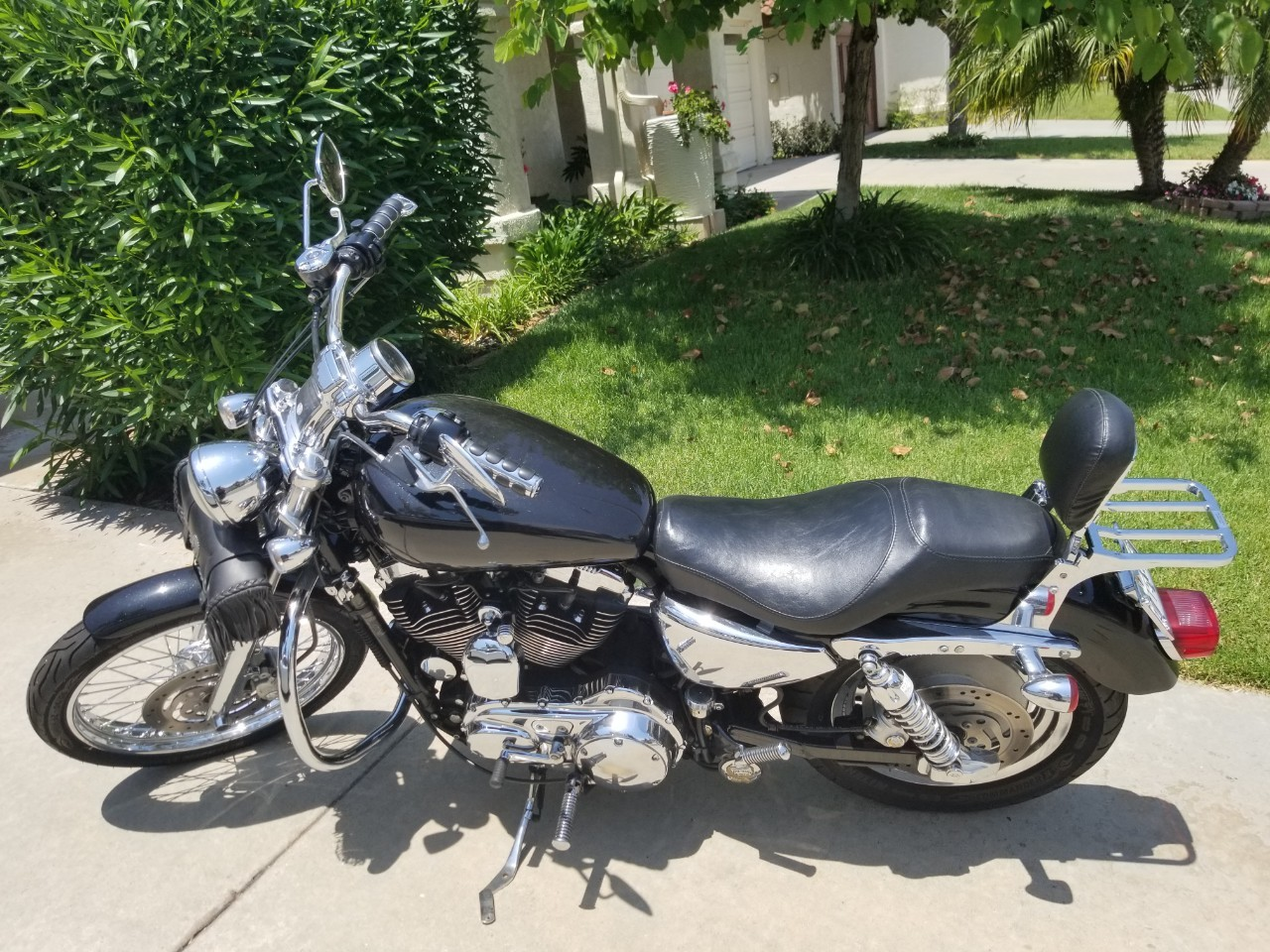 Harley Davidson Xl 1200x Sportster Forty Eight For Sale 1649 Cover Motor Super Size Motorcycles