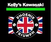 Kellys Kawasaki - Phoenix Triumph Logo