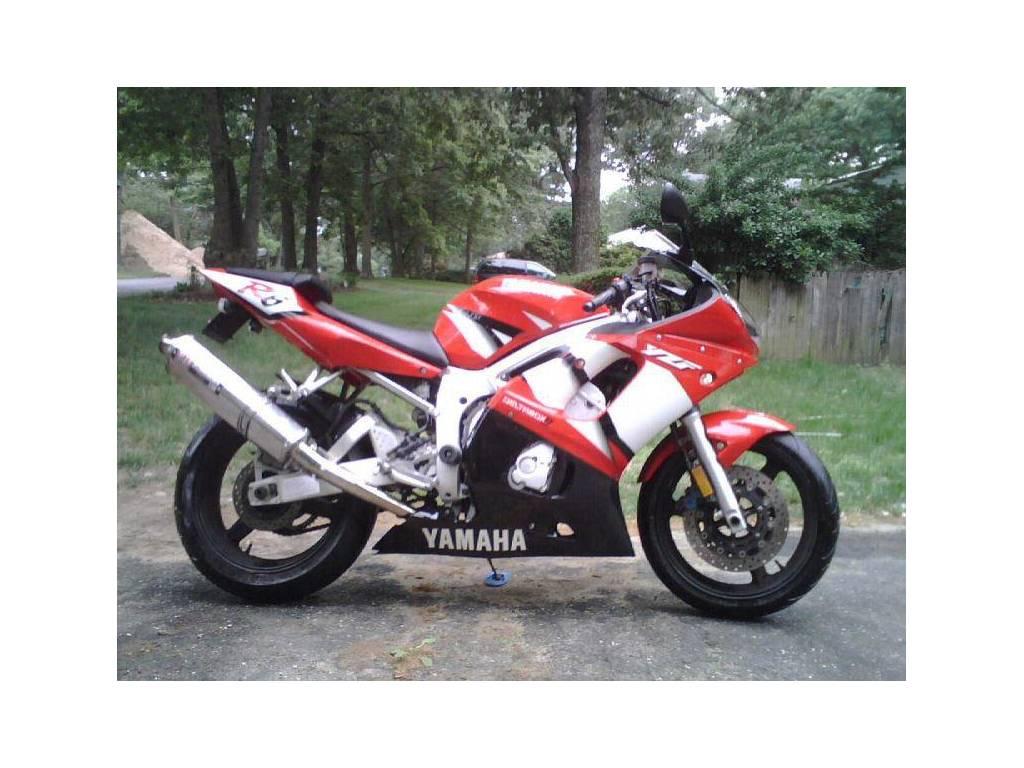 2002 yamaha yzf r6, huntersville nc - - cycletrader