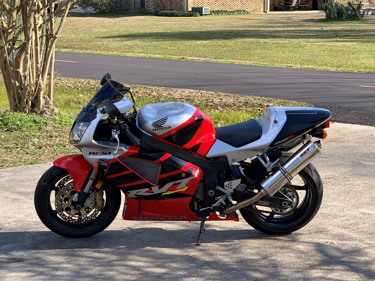 2001 Honda RC RVT1000