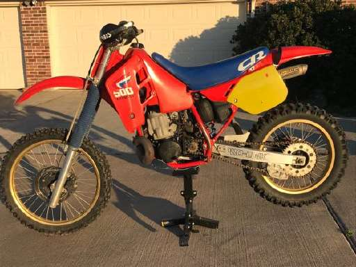 5 S CR 500R Dirt Bike 356953s For Sale Cycle Trader
