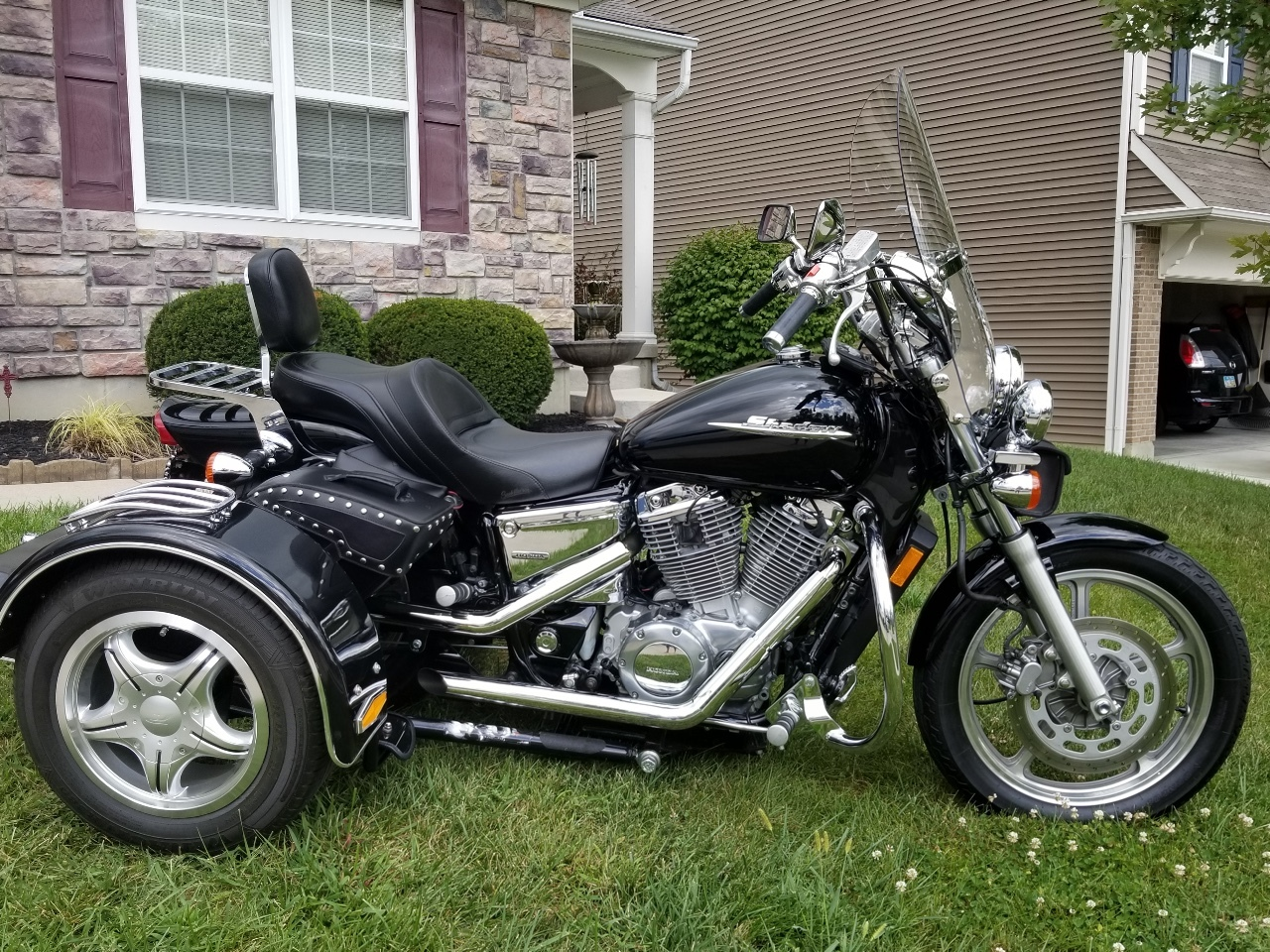 2 Honda Shadow Trike Motorcycles For Sale Cycle Trader