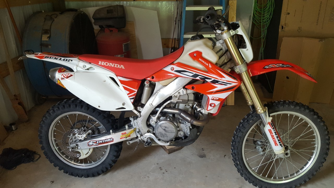 2012 Honda CRF 450X