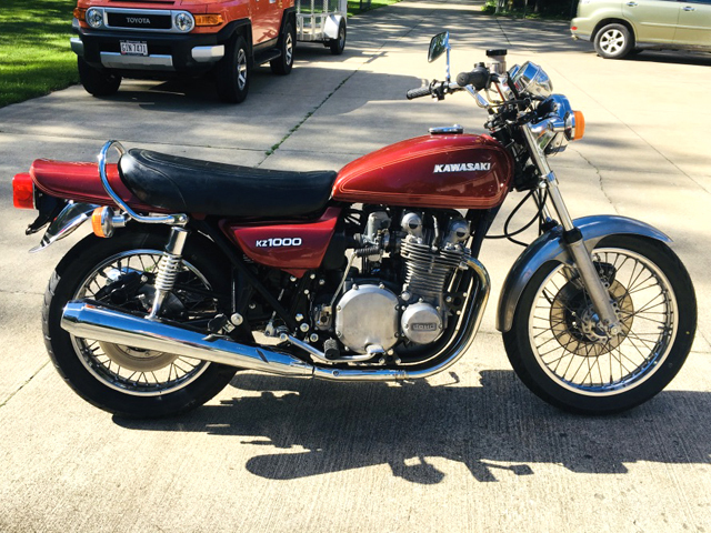1977 Kawasaki KZ1000A For Sale in Wadsworth, OH - Cycle Trader
