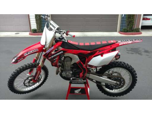 Used 2013 Crf 250R For Sale - Honda Motorcycles - Cycle Trader