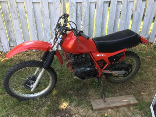 Xl 500R Under $5000 For Sale - Honda Motorcycles - Cycle Trader
