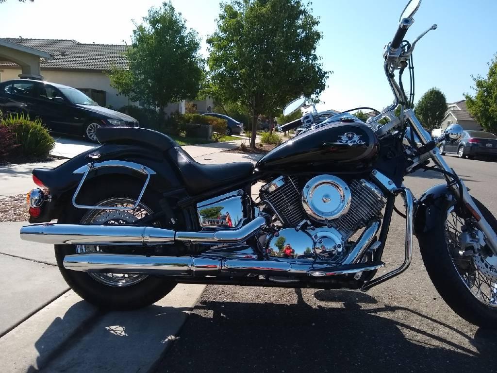 2002 Yamaha V STAR 1100 CUSTOM, Oakley CA - - Cycletrader com