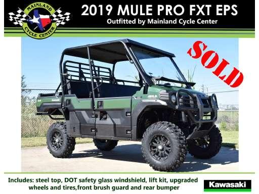 La Marque Tx 2019 Mule Pro Fxt Eps For Sale Kawasaki