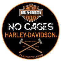 No Cages Harley-Davidson Logo